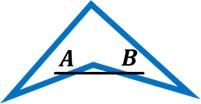 cuadrilátero concavo  Figuras Geométricas cuadrilatero concavo