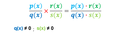 multiplication of rational expressions - formula