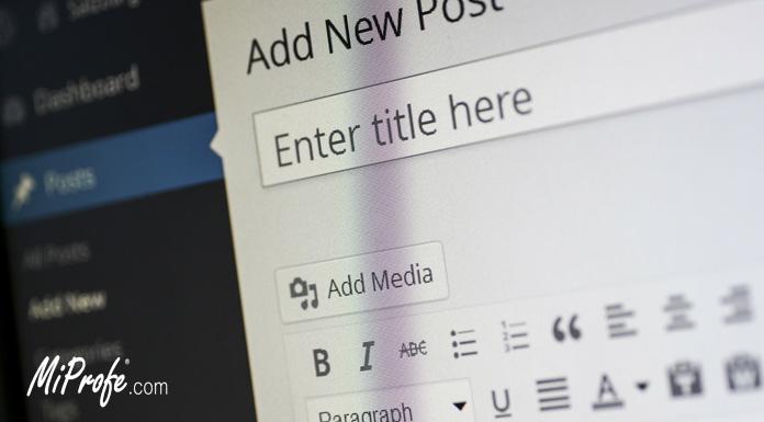Marketing de contenido - publicación